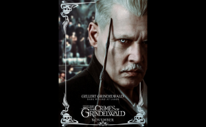 Johnny Depp on playing Grindelwald in Fantastic Beasts 2