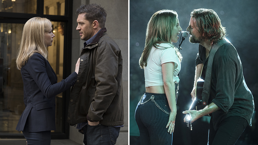 'Venom' and 'A Star Is Born' Hit Huge in Weekend Box Office