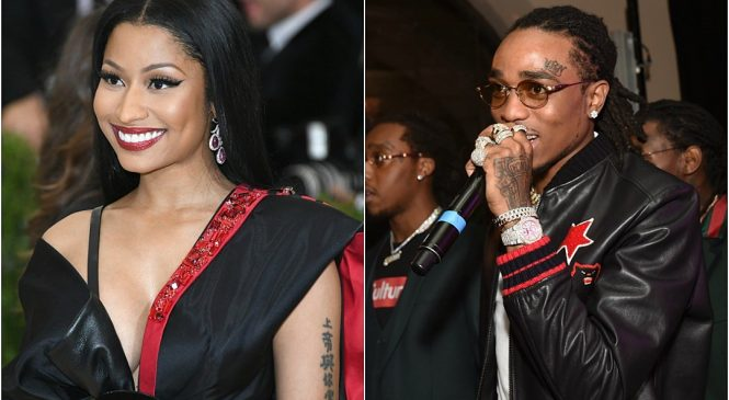 Nicky Minaj 'Never Slept With Quavo': She Only Spent Time With Him to 'Make Cardi B Mad'