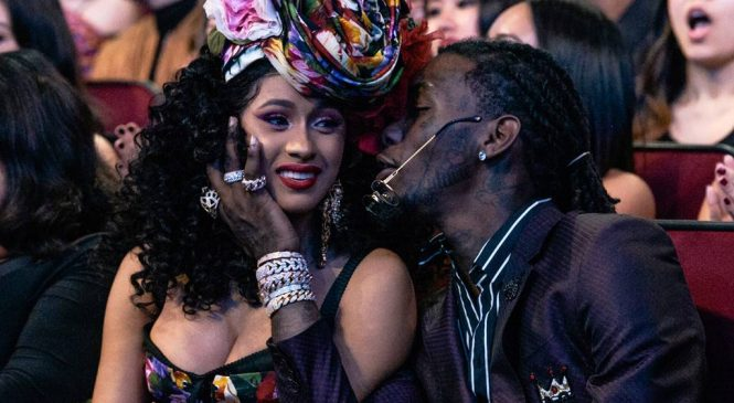 Offset Crashes Cardi B's Set at Rolling Loud Festival