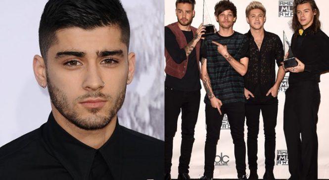 Zayn Malik Blasts His Former One Direction Bandmates: I've Cut All Ties With Them